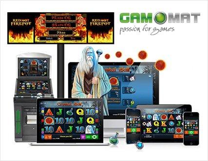 Gamomat software