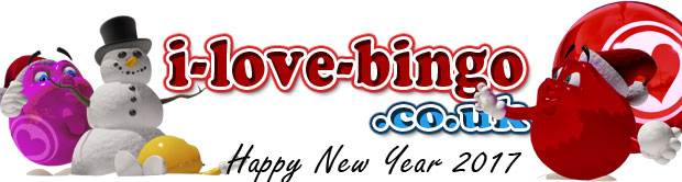 i-love-bingo, Online Bingo Sites reviews - happy new year 2017