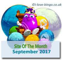 September 2017 bingo site of the month