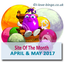 bingosite of the month April May 2017