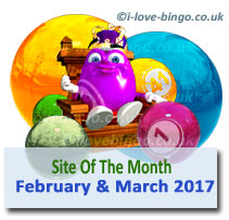 bingosite of the month Feb March2017