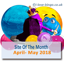 bingosite of the month april may 2018