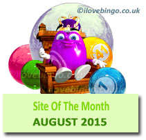 bingosite of the month august 2015