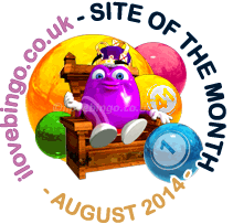Bingo Site Of the Month August 2014