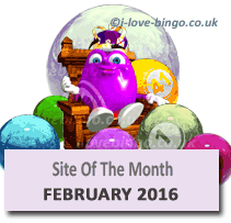 bingosite of the month february 2016