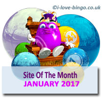 bingosite of the month january 2017