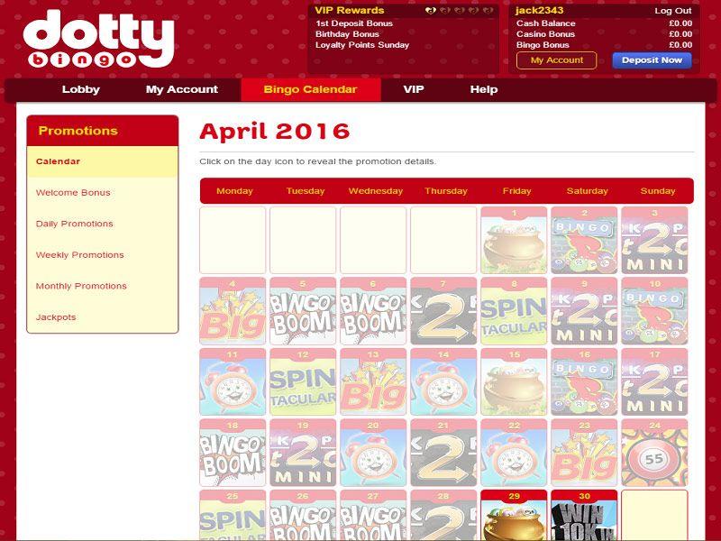 Dotty-Bingo-Promotions-Page