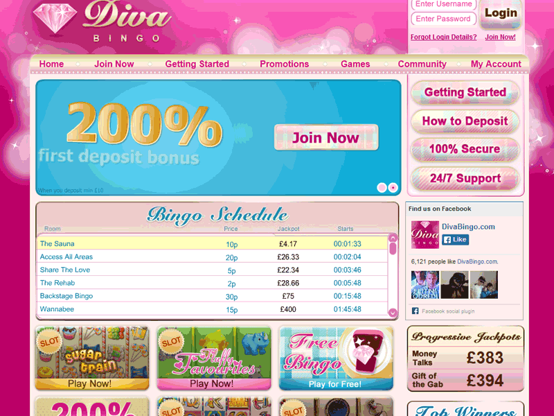 Homepage Diva