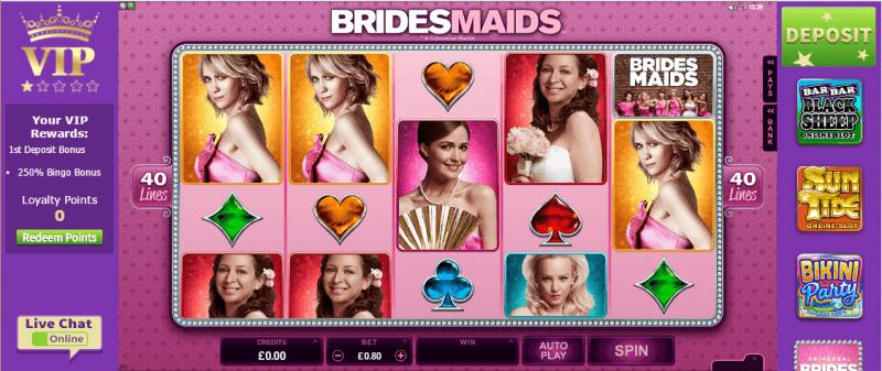 Butlers Bingo Slot in Play