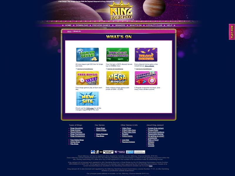 KingJackpot - promotions