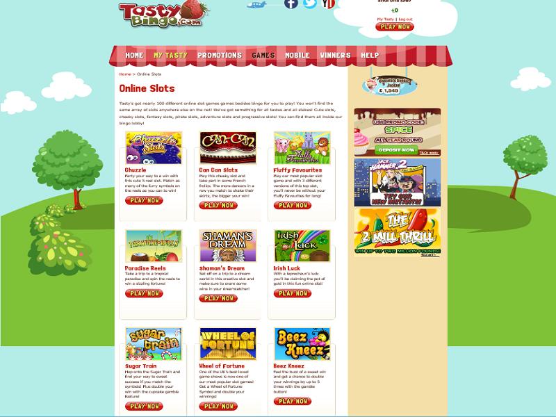 Tasty Bingo - slots games