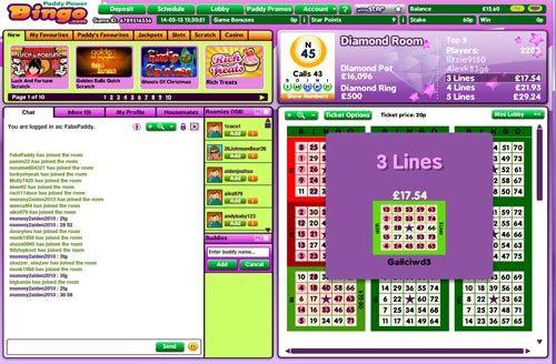 Online Bingo - 90 Balls from Paddy Power