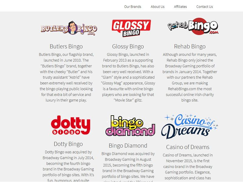 broadway-gaming-bingo brands