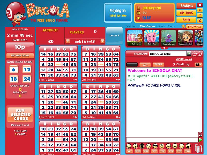 bingola_bingo in play