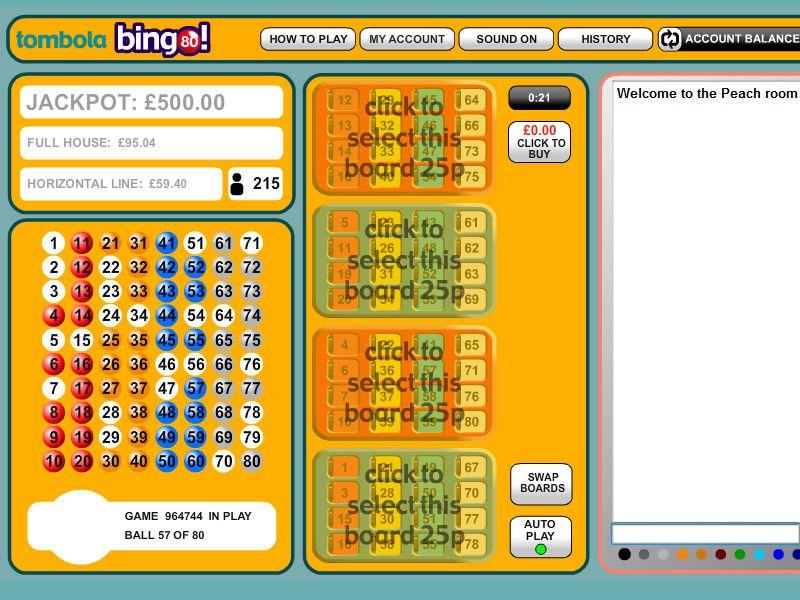 Tombola bingo lite