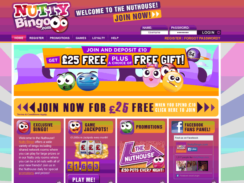 Promotions Page Screenshot
