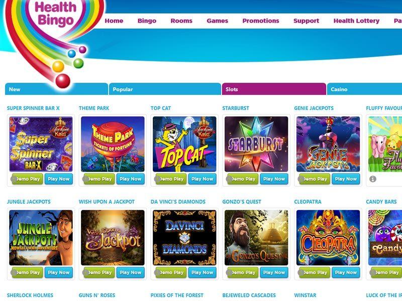 Health-Bingo-games
