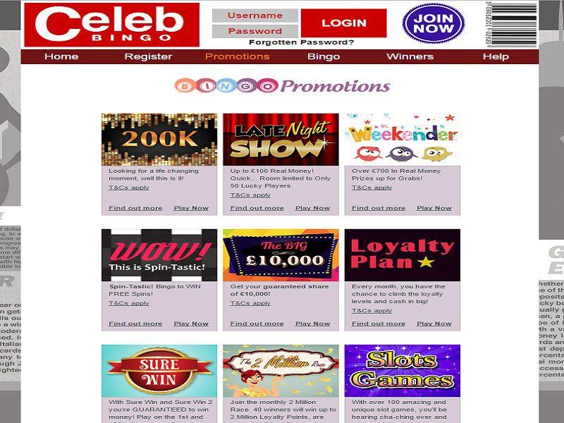 Celeb-Bingo-Promo-Page