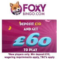 Foxy-bingo-signup-bonus