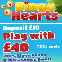 Bingo Hearts Logo