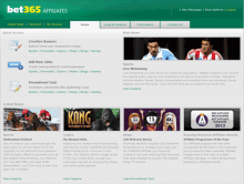 bet365affiliates program homepage