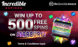 Incredible Spins Offer