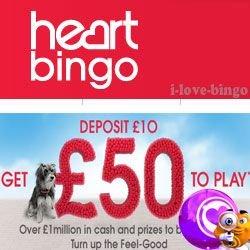 heart bingo Logo promo 2016