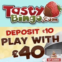 tastybingo.com bonus logo