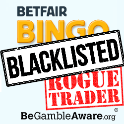 BetFair Bingo Blacklisted