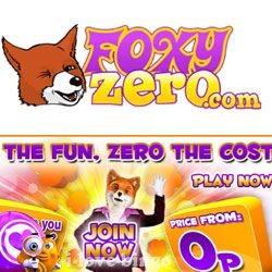 Foxy Zero Bingo